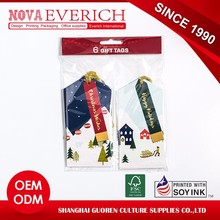 Best sell custom gift tags with OEM service