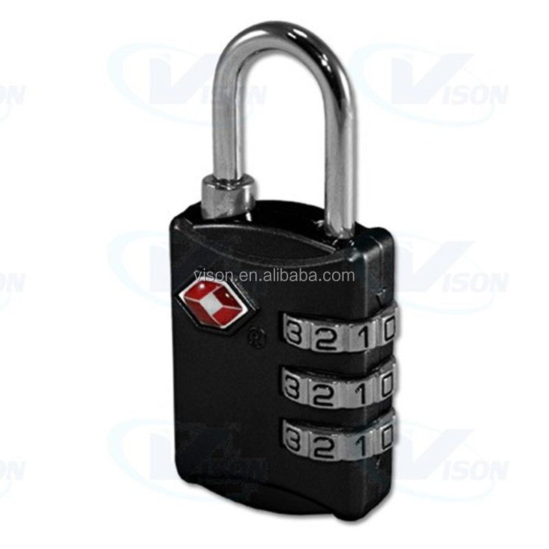 Amazon best supplier travel lock color customized security lock