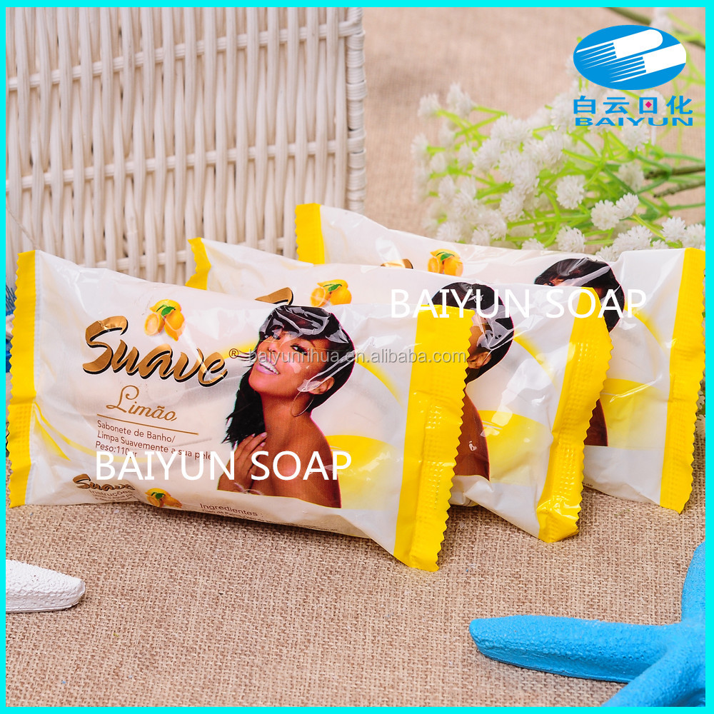 hebei factory 115g brand name of bath soap
