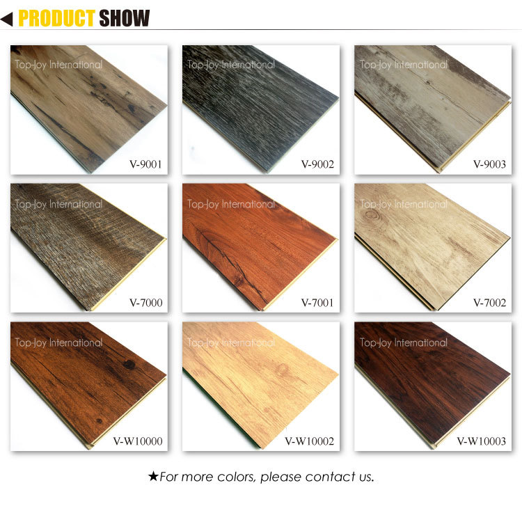 Interlocking Sound Absorbing Vinyl Plank WPC Flooring