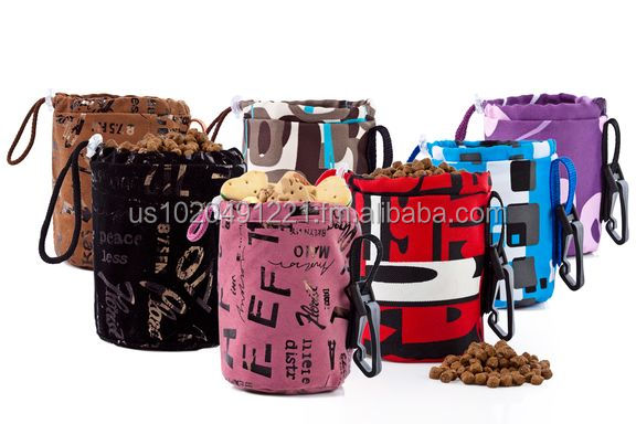 Agility Bag Treat for Dogs | Very colorful dog treat bags | Dog training treat bags