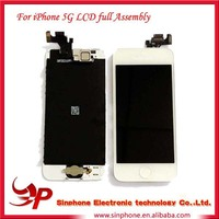 For Apple iPhone 5 Complete Front Housing LCD Touch Digitizer Glass Screen Assembly