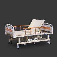 Handicap Equipments king size hospital bed with commode metal panel