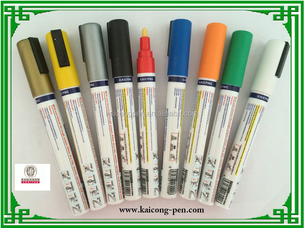 Hot sell in 2017 water-based pigment medium point tip iPOSCA paint marker uni paint marker