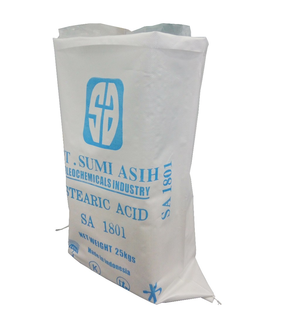 plain white pp bag empty bag for packing rice flour fertilizer
