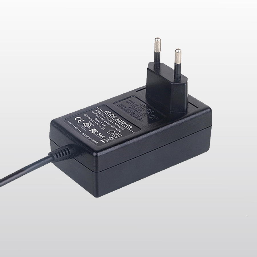CE certified AC to DC 12V 2A power adapter