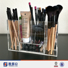 Manufacturers High Quality Acrylic Makeup Brush Organizer for Brush Set Acrylic Makeup Brushes Holder