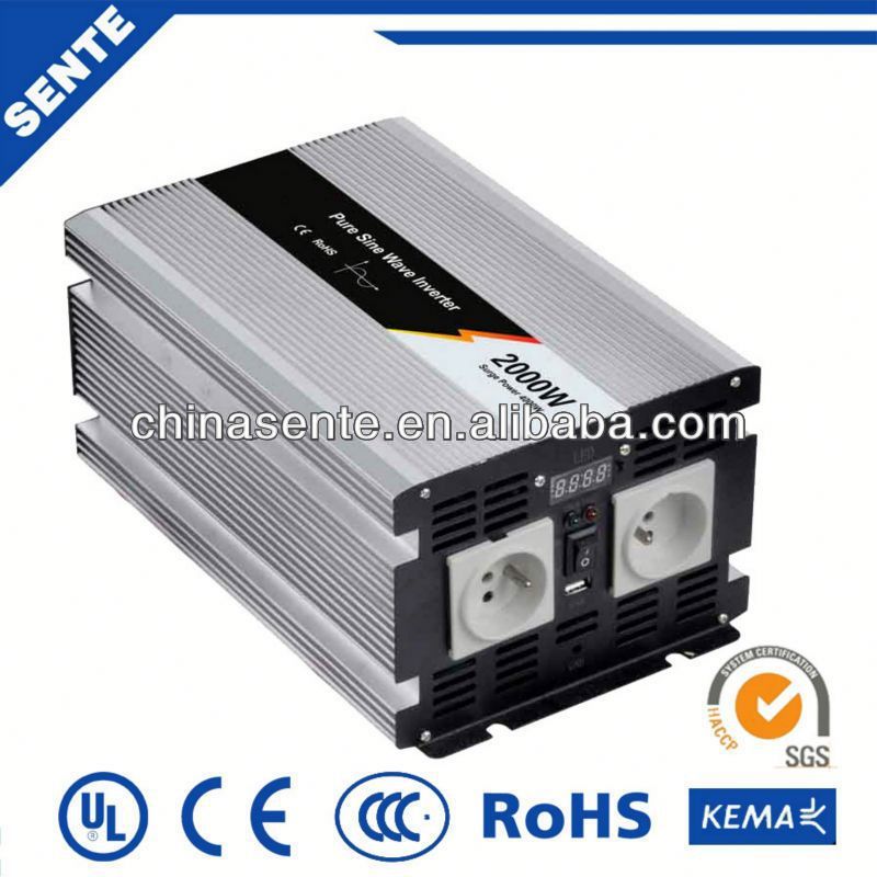 Top quality 2000w solar power micro inverter off-grid solar dc to ac 50Hz/60Hz made in China