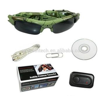 Invisible Sunglasses Camera With 1280*720 Security Camera Video recorder MINI Camera