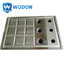 Cladding abrasion resistant steel sheet sliding liner plate for rolling mill