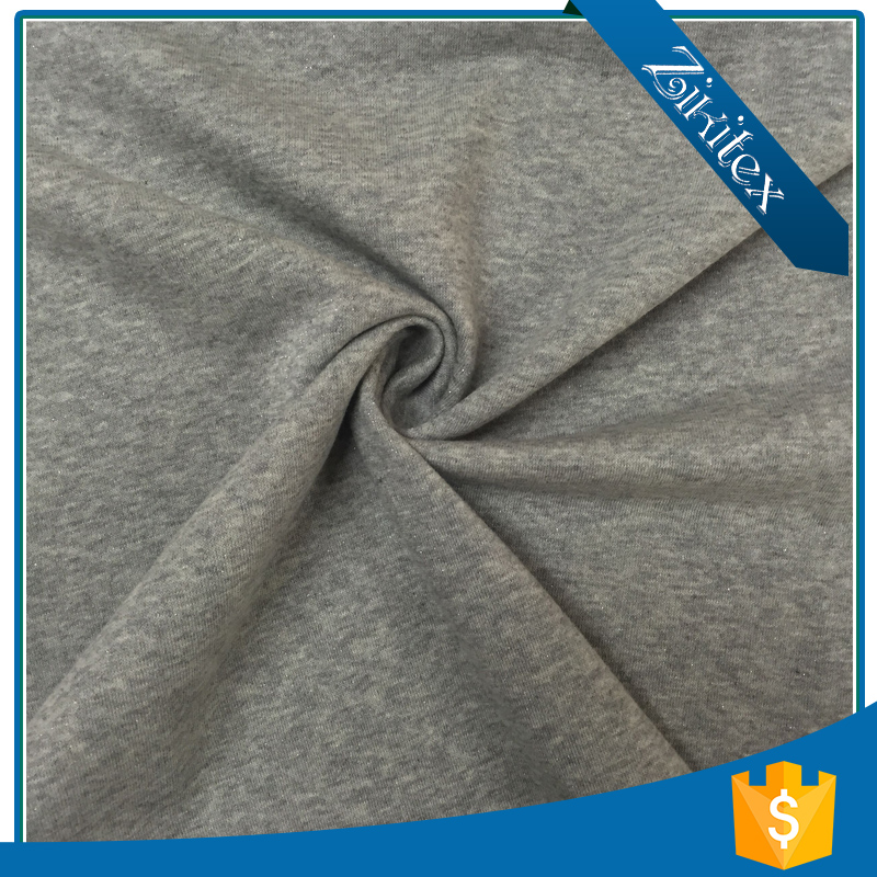 Popular Small 100 cotton french terry knitted fabric