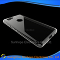clear Transparent soft mobile phone case for Google Pixel 2 tpu back cover