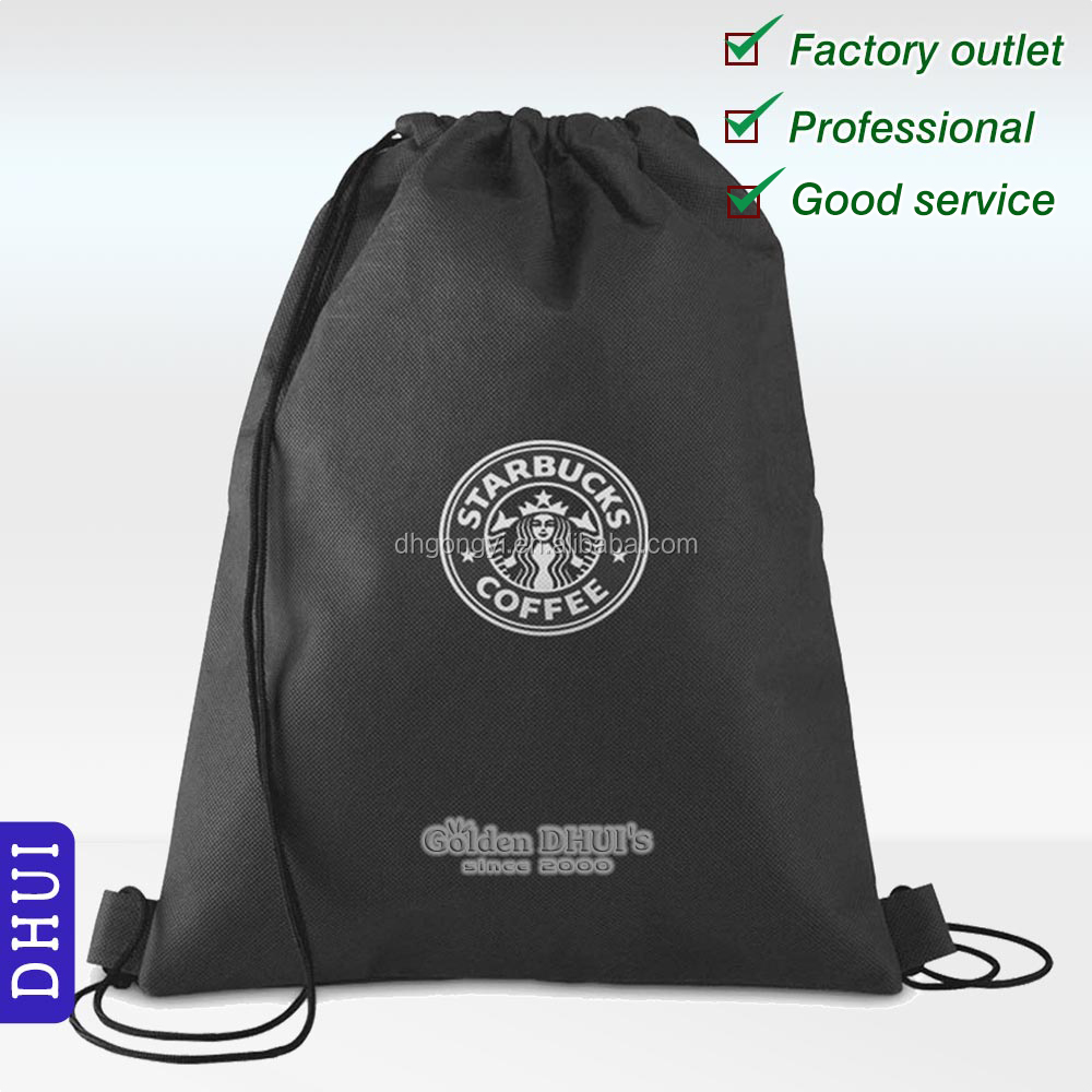 Wholesale Nonwoven Back Pack,Trendy Drawstring Promotional Gift Bag, Shoes Bag.