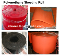 high tear resistant polyurethane sheet, anti wear poly urethane pad,rubber polyurethane mat