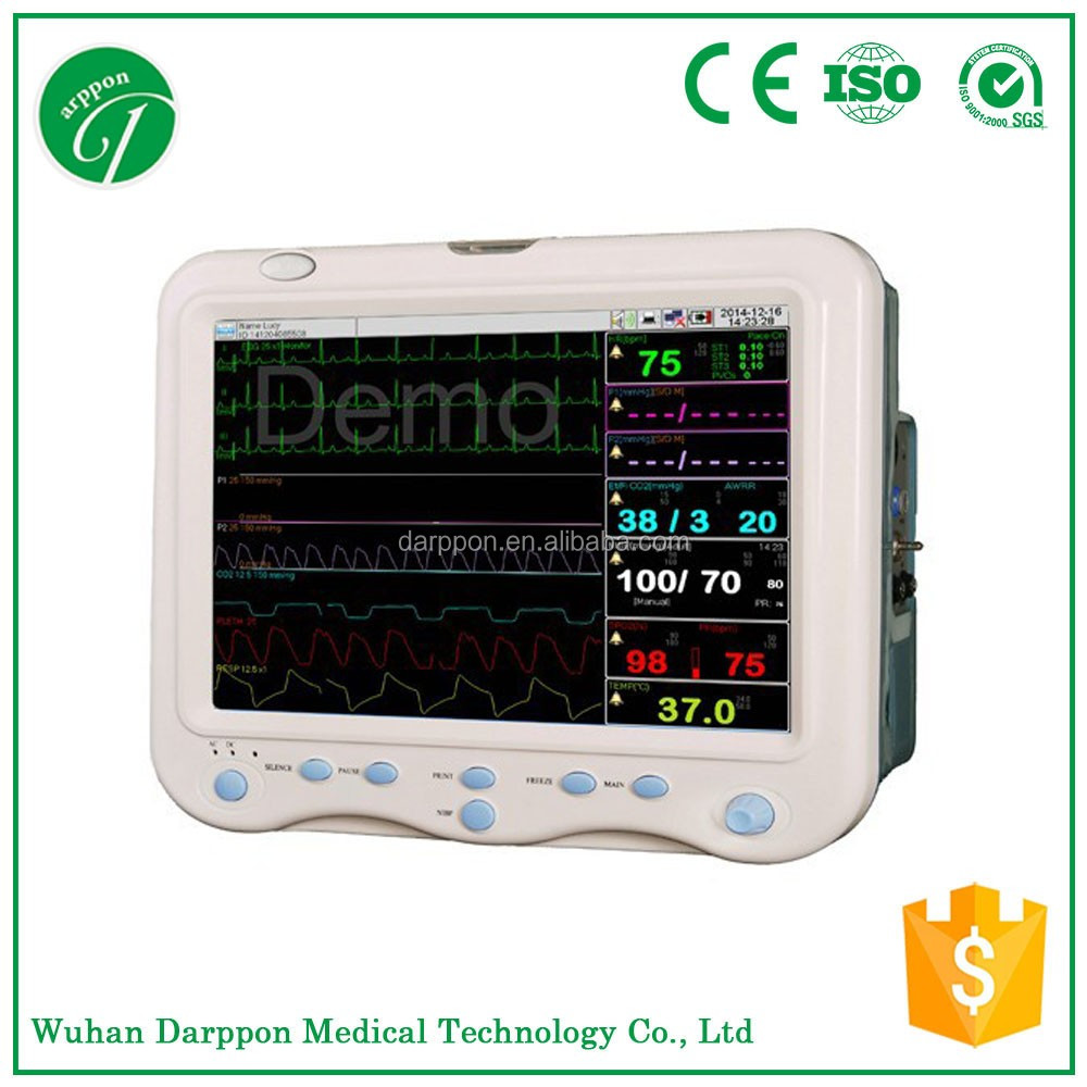 15 Inch Multi Parameter Portable Patient Monitor with CE