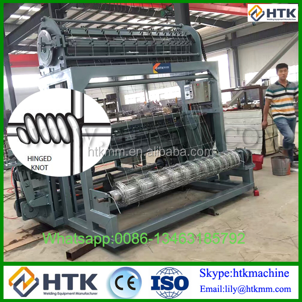 Automatic Grassland Mesh Fence Making Machine/Cattle Fence netting machine Made-in-china