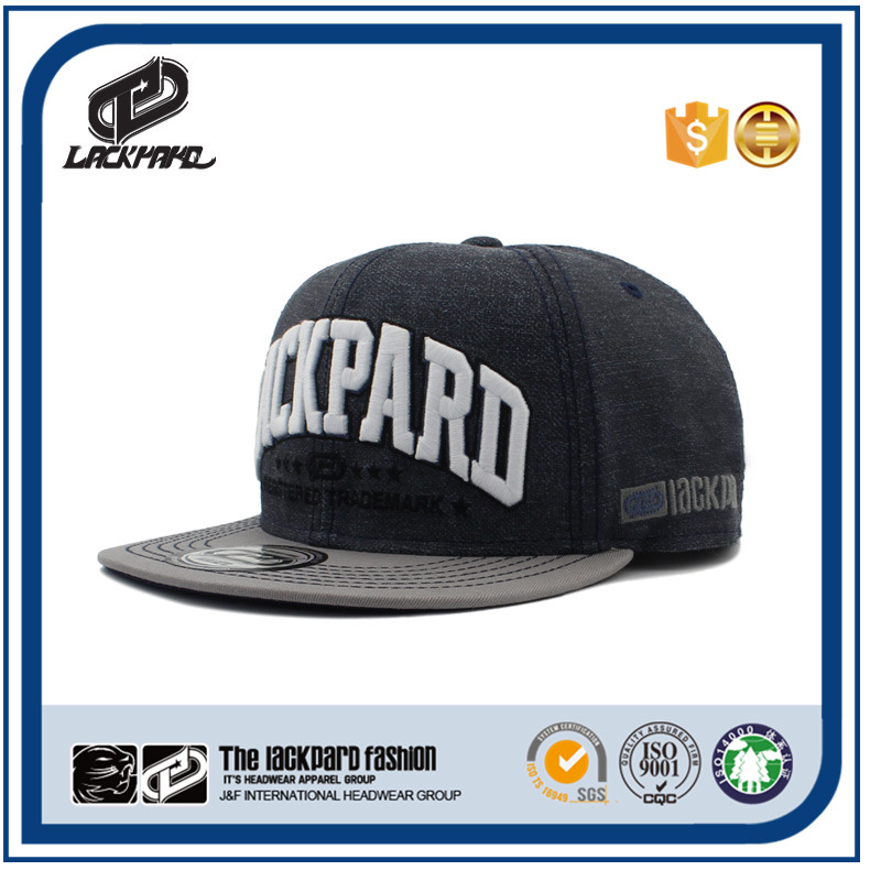 design your own snapback cap with 3D EMBROIDER on front