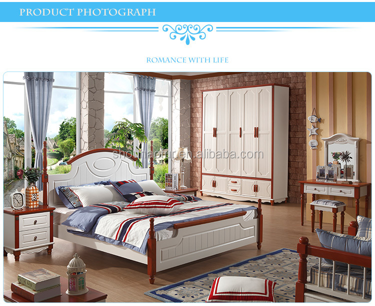 2015 Foshan Mediterranean Style Import Bedroom Furniture