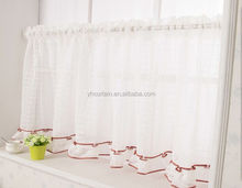 fashion cafe shop crochet lace curtains