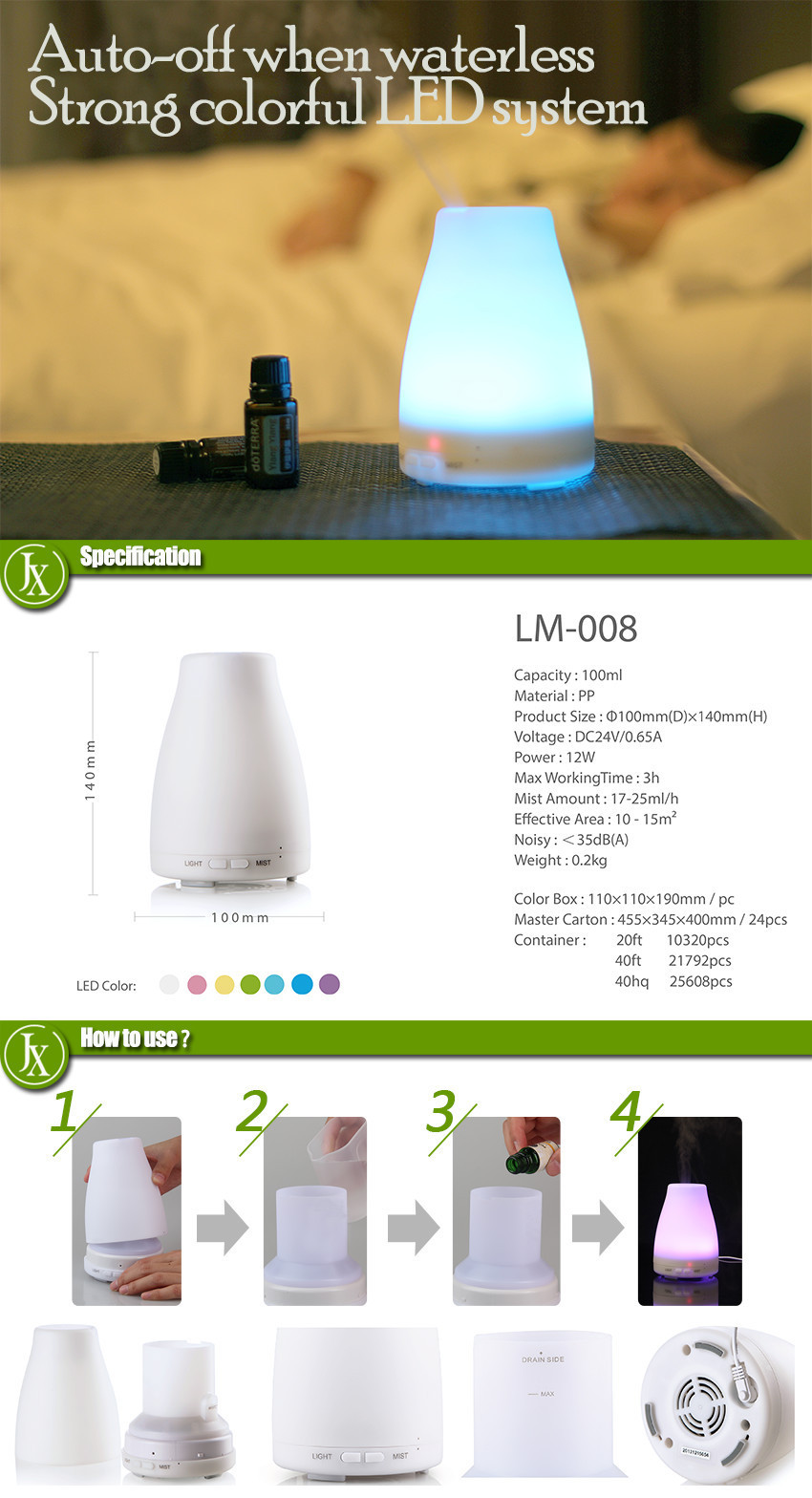 Oils Fragrance Diffuser 12v mist makers room deodorizers 12v mist makers