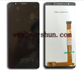 mobile phone lcd for Alcatel 3C 5026 XL complete Black