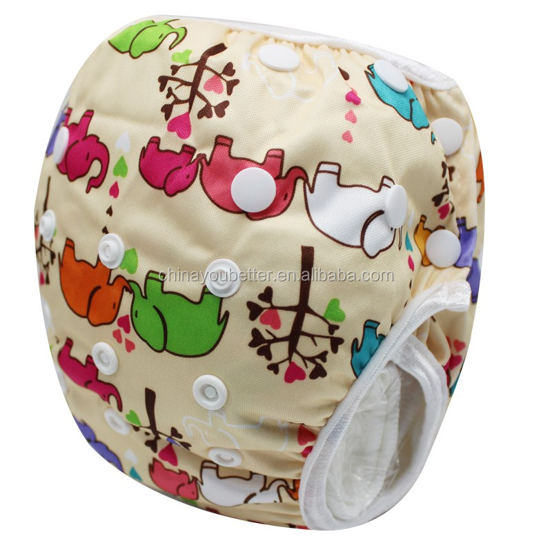 The Newst Design Infant Swim Diapers One Size Fit 10-40lb Baby Swimming Nappies