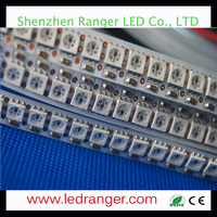 epoxy resin 5050 RGB LED Light Striping WS2812B 5050 pixel rgb led flexible strip