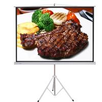 portable tripod projection screen 70x70 tripod screen