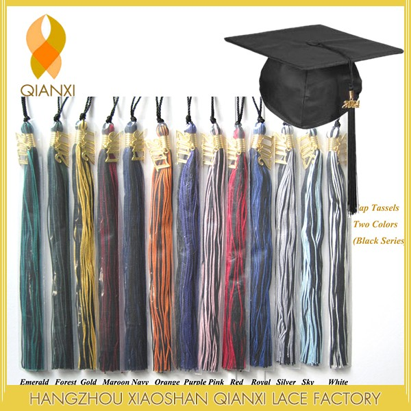 "9"" Adult Graduation Cap Tassels For 2017 Graduation"