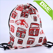 Gym Sackpack Bag Drawstring Backpack Sport Bag for Men and Women.