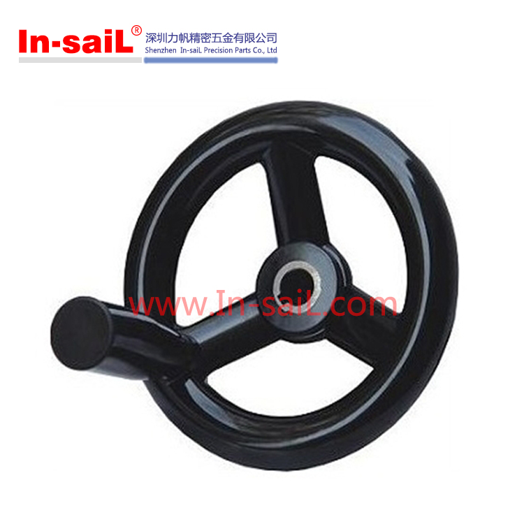 Plastic hand wheels