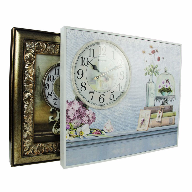 Art painting wall clock home interiors decor wholesale for Decor international wholesale