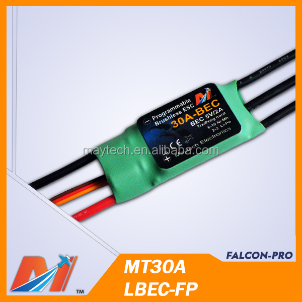 Maytech 30A ESC brushless speed controller for aeromodelism airplane