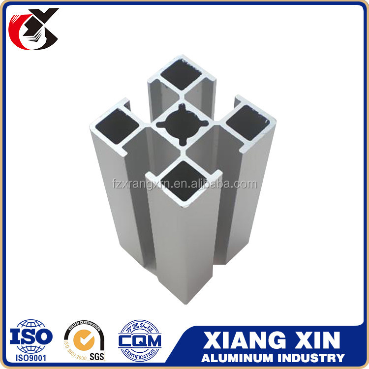 China Supplier industrial Aluminum Profile Price type Weight of Aluminum Section