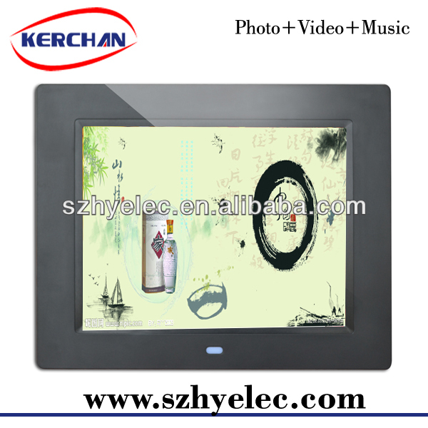 Digital picture frames with clock/3d digital photo frame/digital photo frame CE(DPF9805)