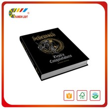 Best price professional manufacturer caoted paper full color varnishing blank hardcover book