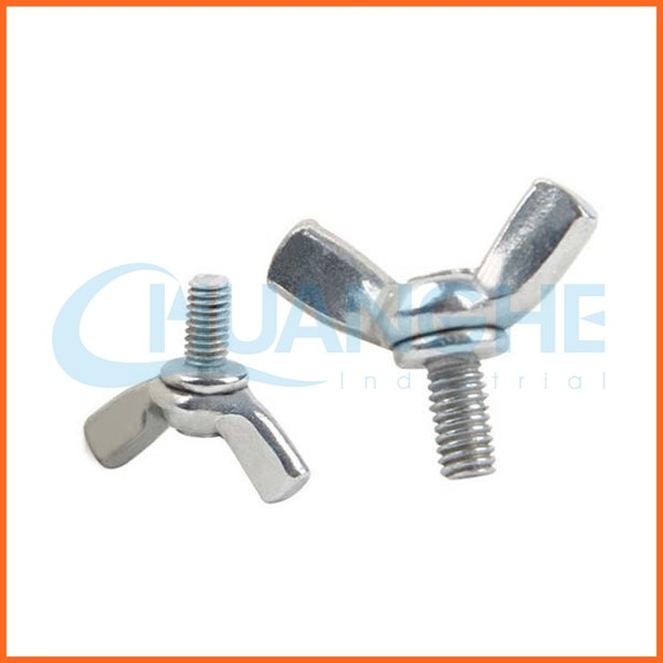 China supplier wing bolt with spigot end