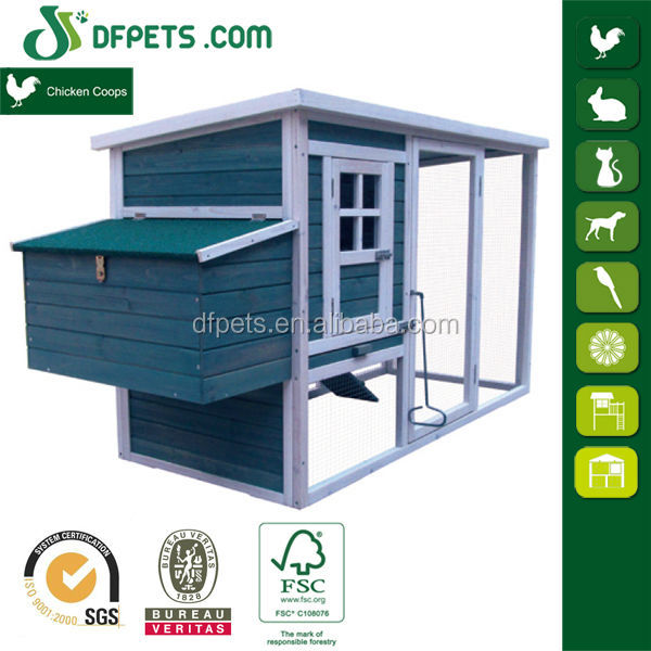 DFpets DFC009T Wooden Pigeon Coop With Nesting Box