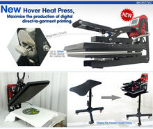 Two Function: Hover T-shirt Heat Press for Curing Inks, Can Also Make Traditional Heat Transfer & Sublimation Transfer