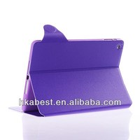 pure color case for tablet pc,pu leather case for ipad 5 with stand,card holding case for ipad air
