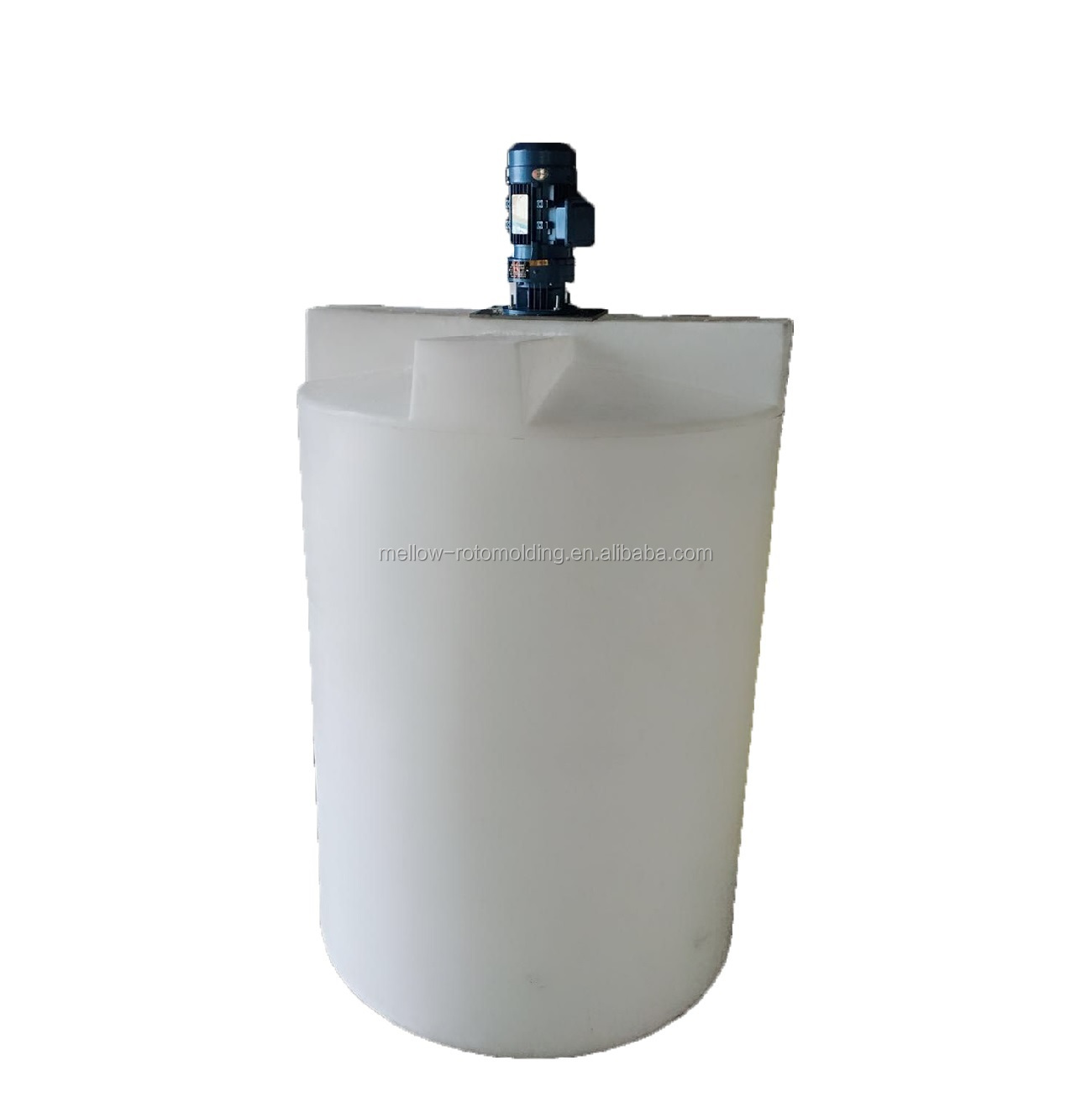 Rotational molded plastic dosing water tank