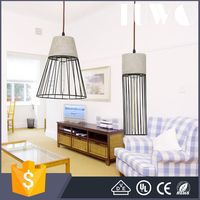 Nordic Minimalist new designed metal iron bird cage chandelier ceiling lamp light pendant restaurant home