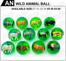 3D insect animal bouncing ball /rubber ball