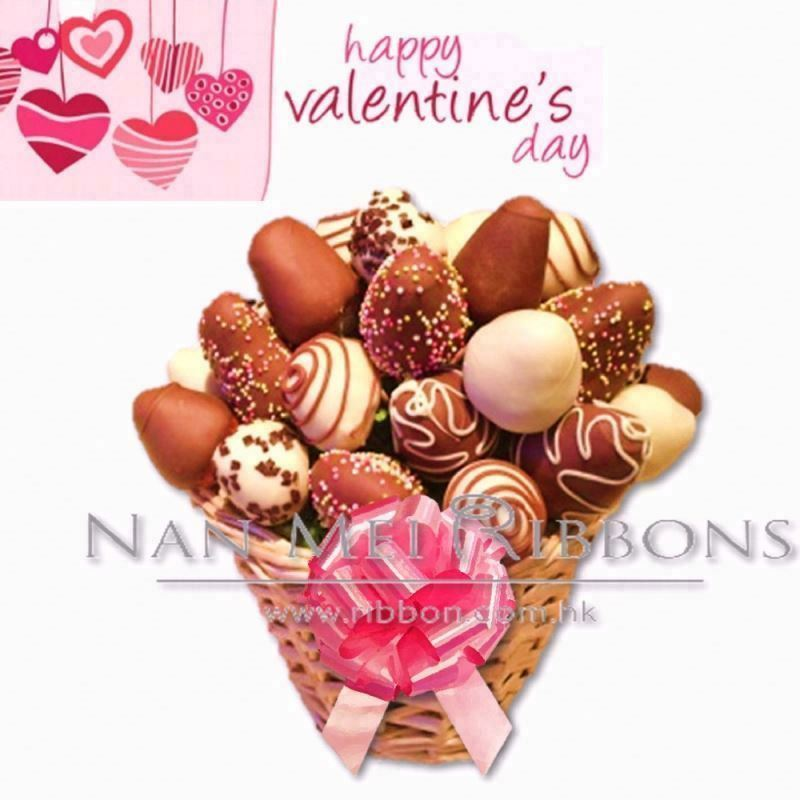 Celebrate Valentine's day Gift Decoration Idea Plastic Ribbon Pull Bow for Chocolate Love Basket Package Decoration