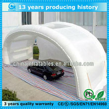 Fashion design inflatable garage tent