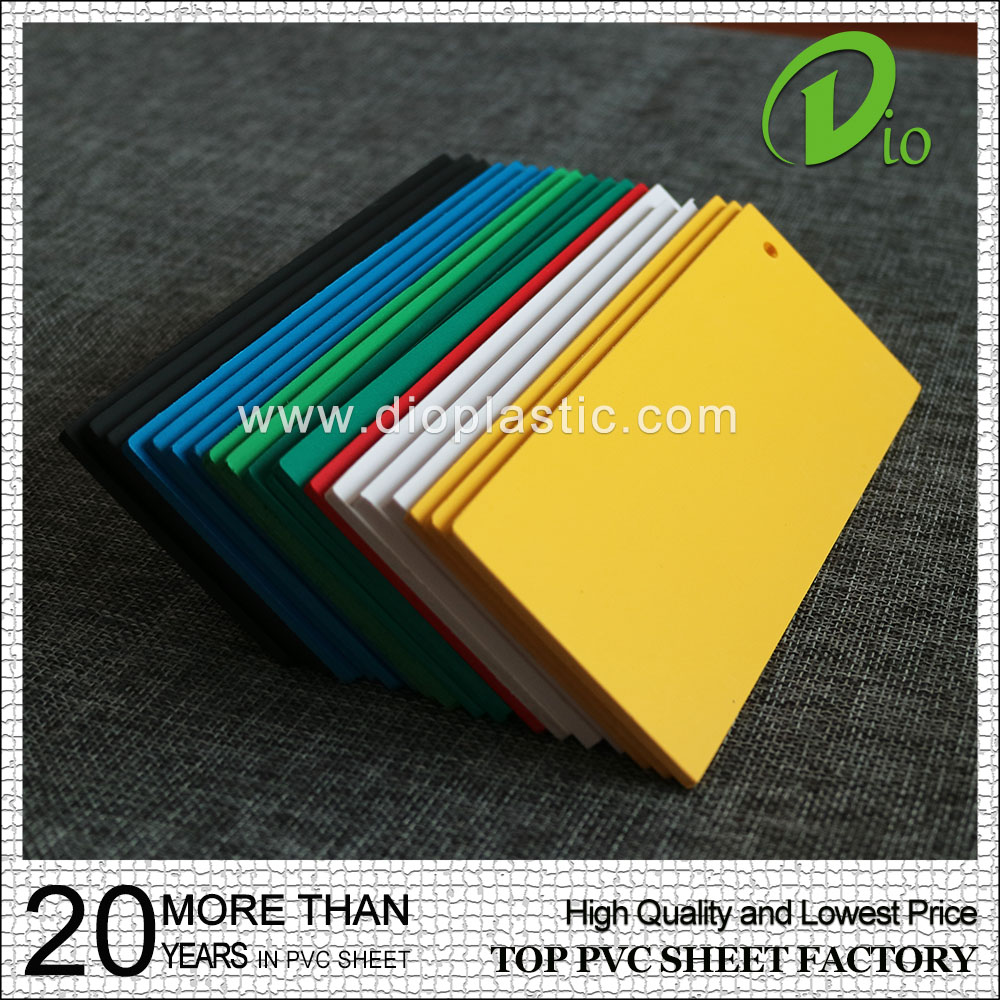 Cheap price self adhesive extruded foam board plastic pvc sheet