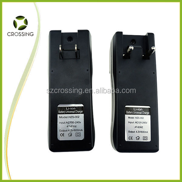 High Quality Travel Charger 18650 18350 Battery Charger Two Channel Digital Universal Li-ion Charger with EU US plug ,