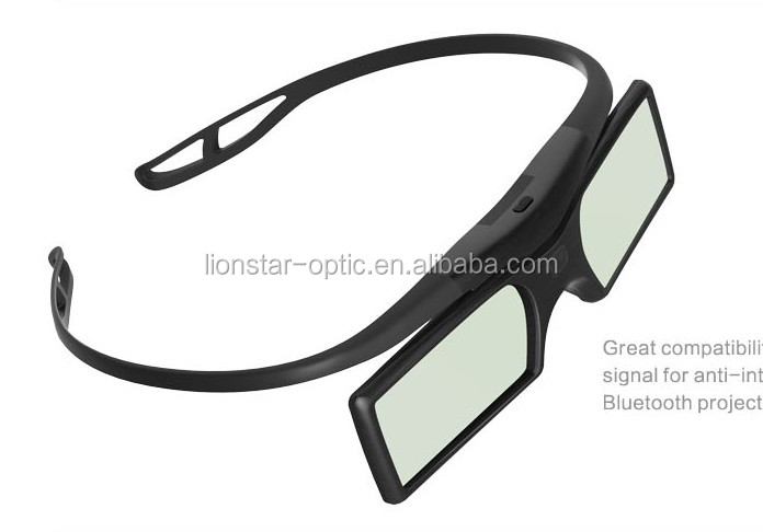 Cheap 3d active shutter glasses universal DLP link active shutter for sale