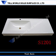 TW 2015 solid surface wash basin / commercial toilet wash basins /mother of pearl wash basin