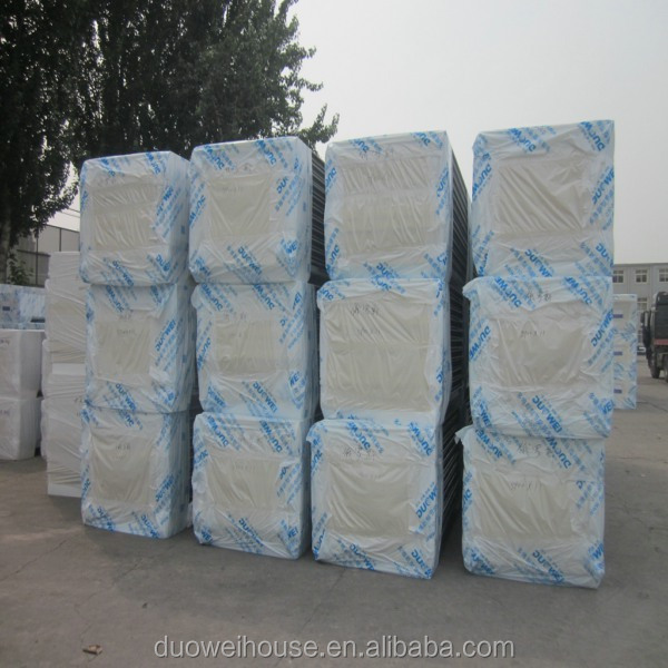 Nice looking glass wool sandwich wall panel from China